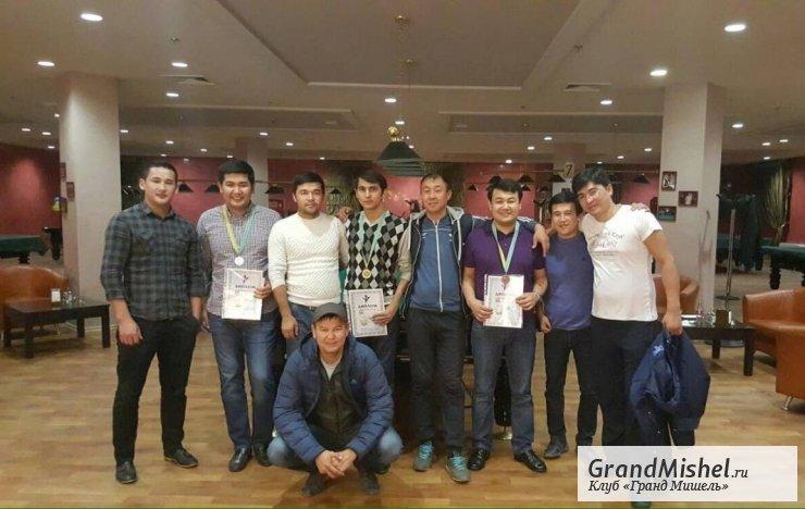 В Казахстане состоялся турнир по бильярду «Московская пирамида»